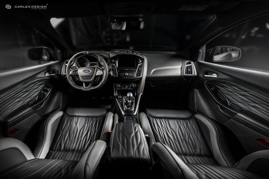 Carlex Design se atreve con el interior del Focus RS: El resultado es único a la par que siniestro