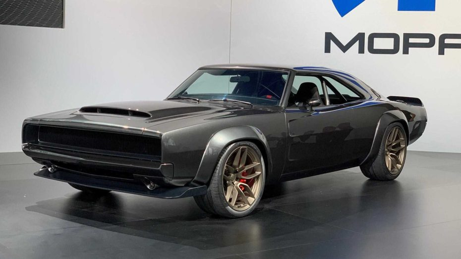 Este Dodge Super Charger esconde un motor 'Hellephant' con 1.014 CV de puro músculo americano