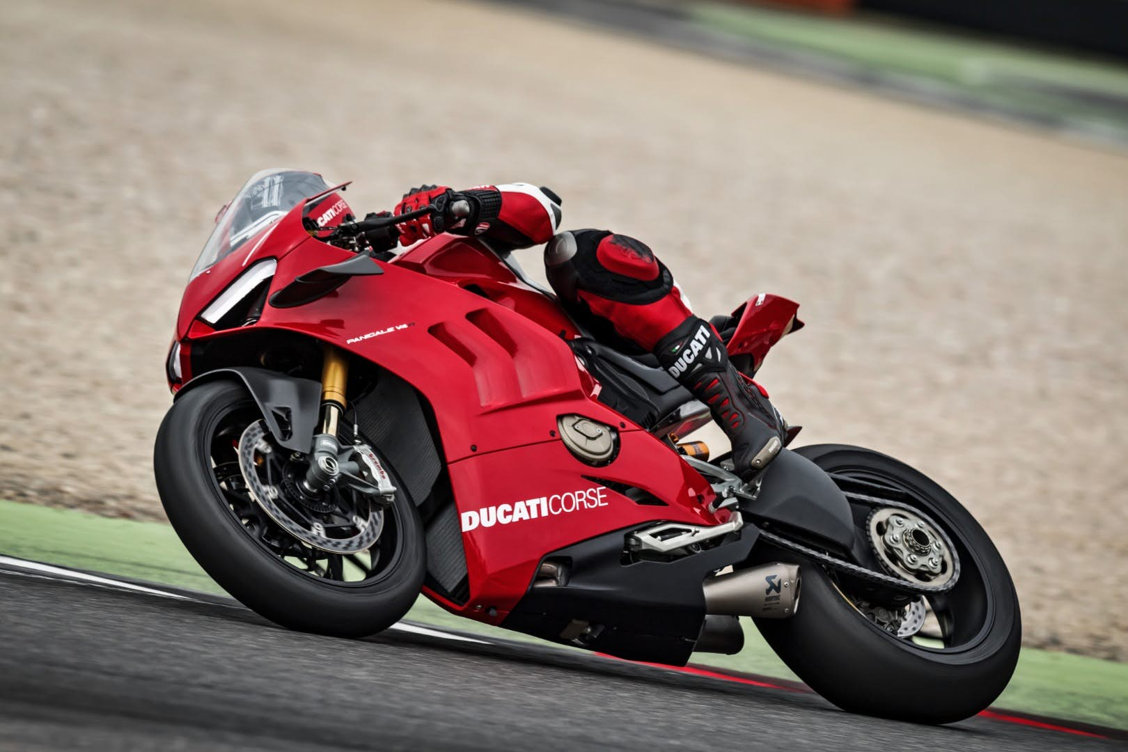 motores V4 motos
