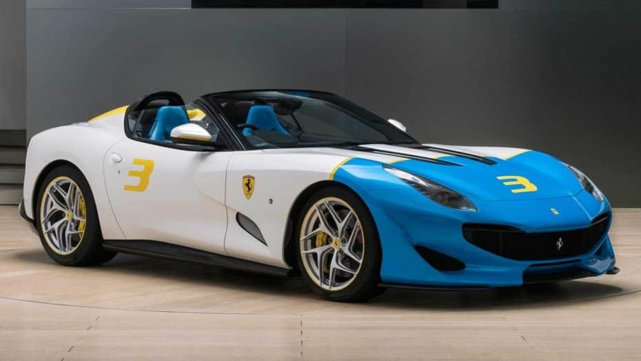 El Ferrari SP3JC es el último one-off de la marca italiana con 780 CV y a cielo abierto