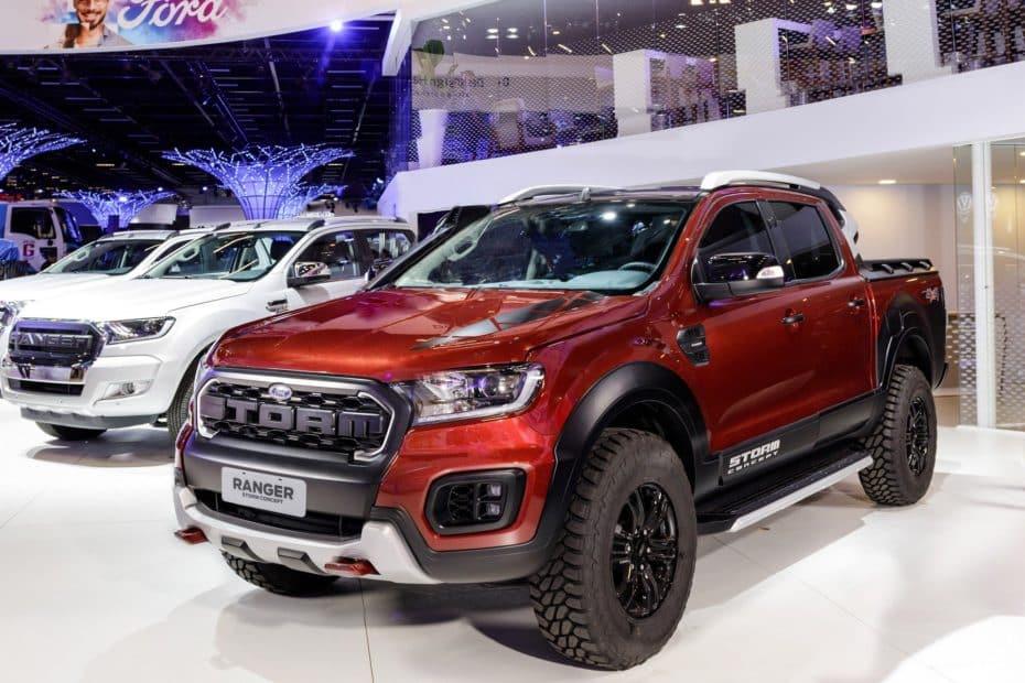Las pick ups se apoderan de Brasil: Así son los Ford Ranger Storm y Black Edition Concept