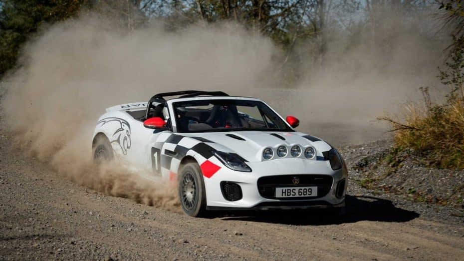 Así es el Jaguar F-Type de rally: Nacido para celebrar 7 décadas de éxitos