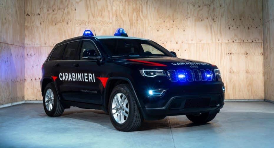 Los fuerzas de seguridad italianas eligen al Jeep Grand Cherokee para los Carabinieri