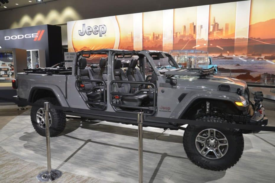 Así luce el Jeep Gladiator al natural: Un pick up con sobradas capacidades (al menos, en apariencia)
