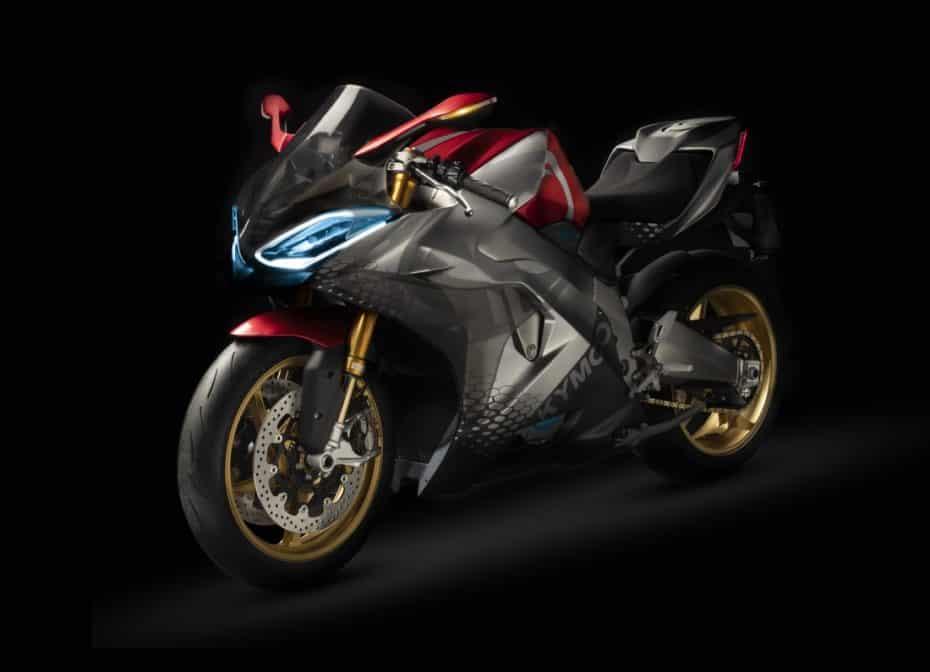 KYMCO SuperNEX: Una moto 100% eléctrica con cambio manual y sonido multifrecuencia