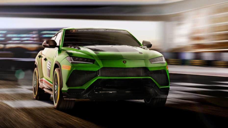 LamborghiniUrus ST-X Concept: Soberbia creación de Squadra Corse para la pista