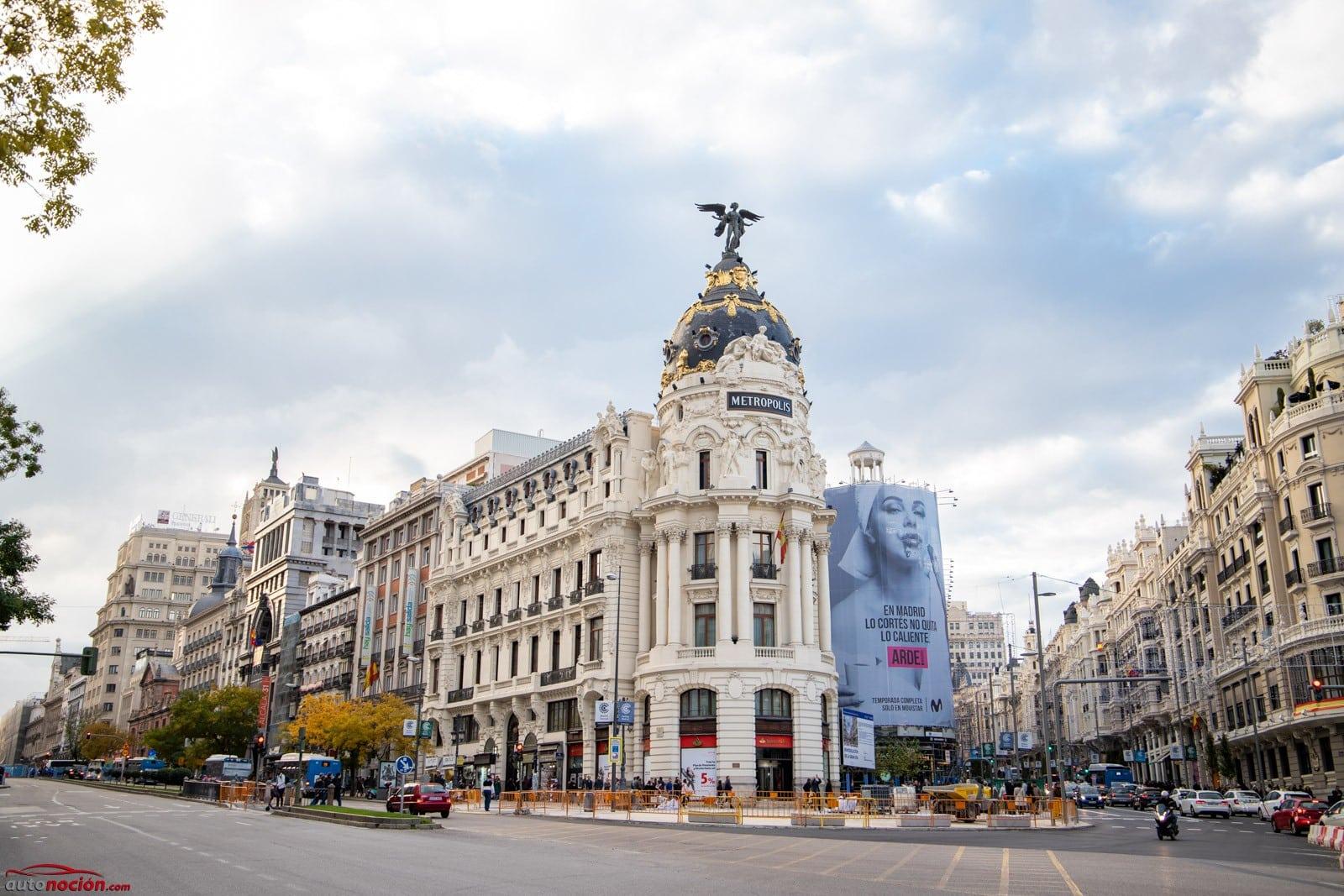 Solo los coches ECO o CERO pueden aparcar en Madrid Central