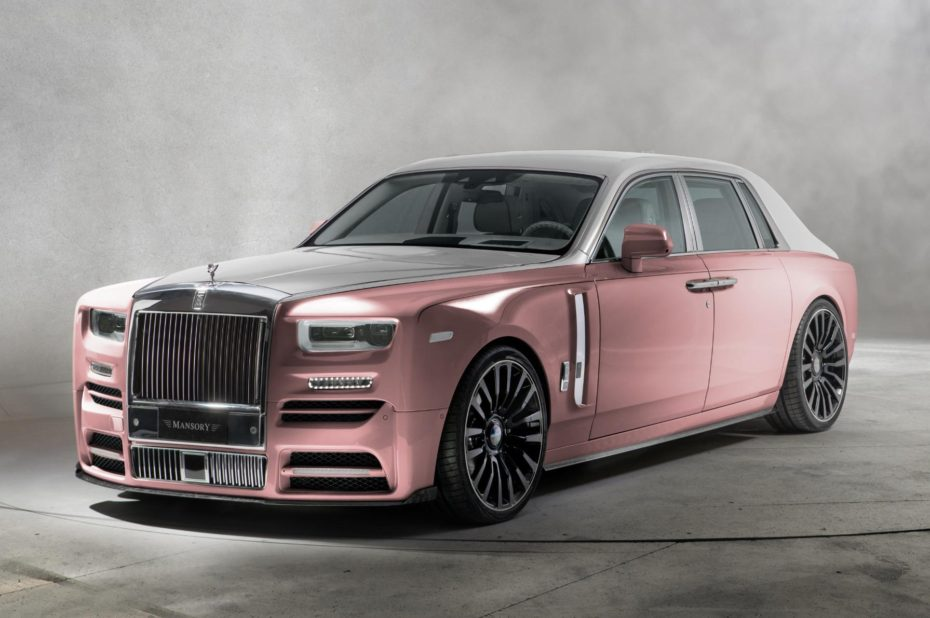 El nuevo Rolls-Royce Phantom de Mansory es más excéntrico, lujoso y potente