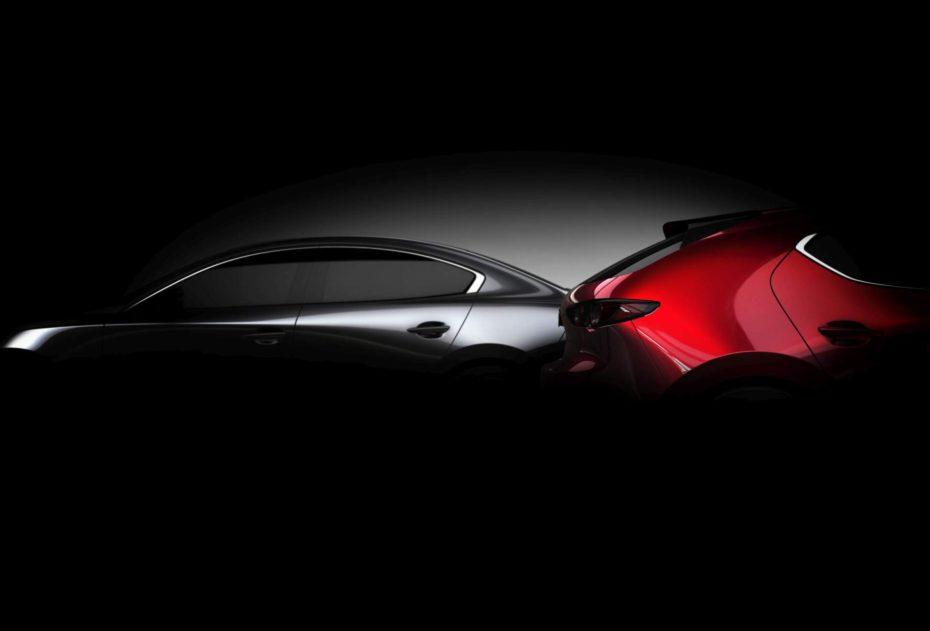 Primera imagen oficial del Mazda3 2019: Lo conoceremos este mes