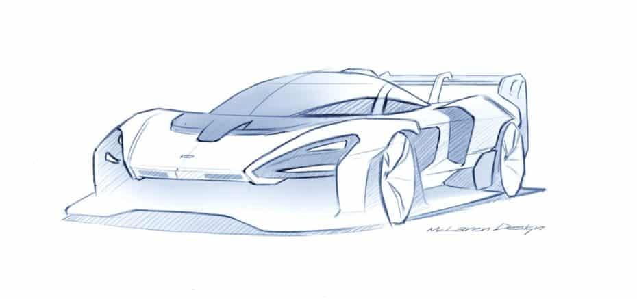 McLaren empieza a anunciar las especificaciones del Senna GTR y son salvajes…