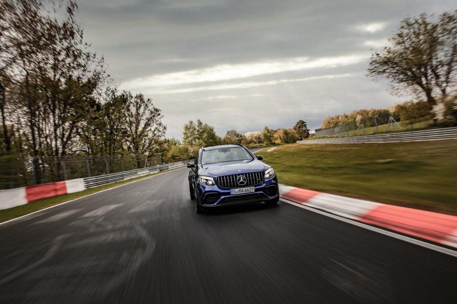 El Mercedes-AMG GLC 63 S es el nuevo rey de Nürburgring: Ni Cayenne ni Stelvio, aquí manda mi estrella