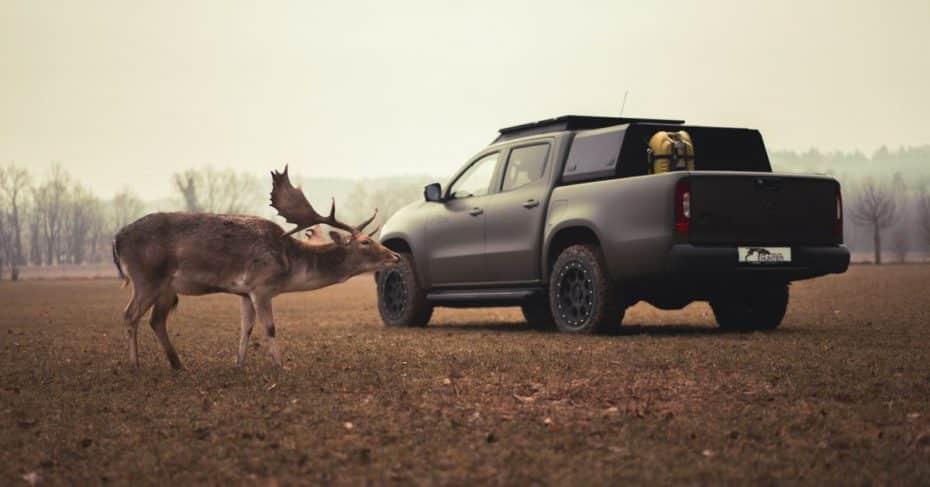Mercedes-Benz Gruma Hunter Clase X: Una bestia pensada para cazadores