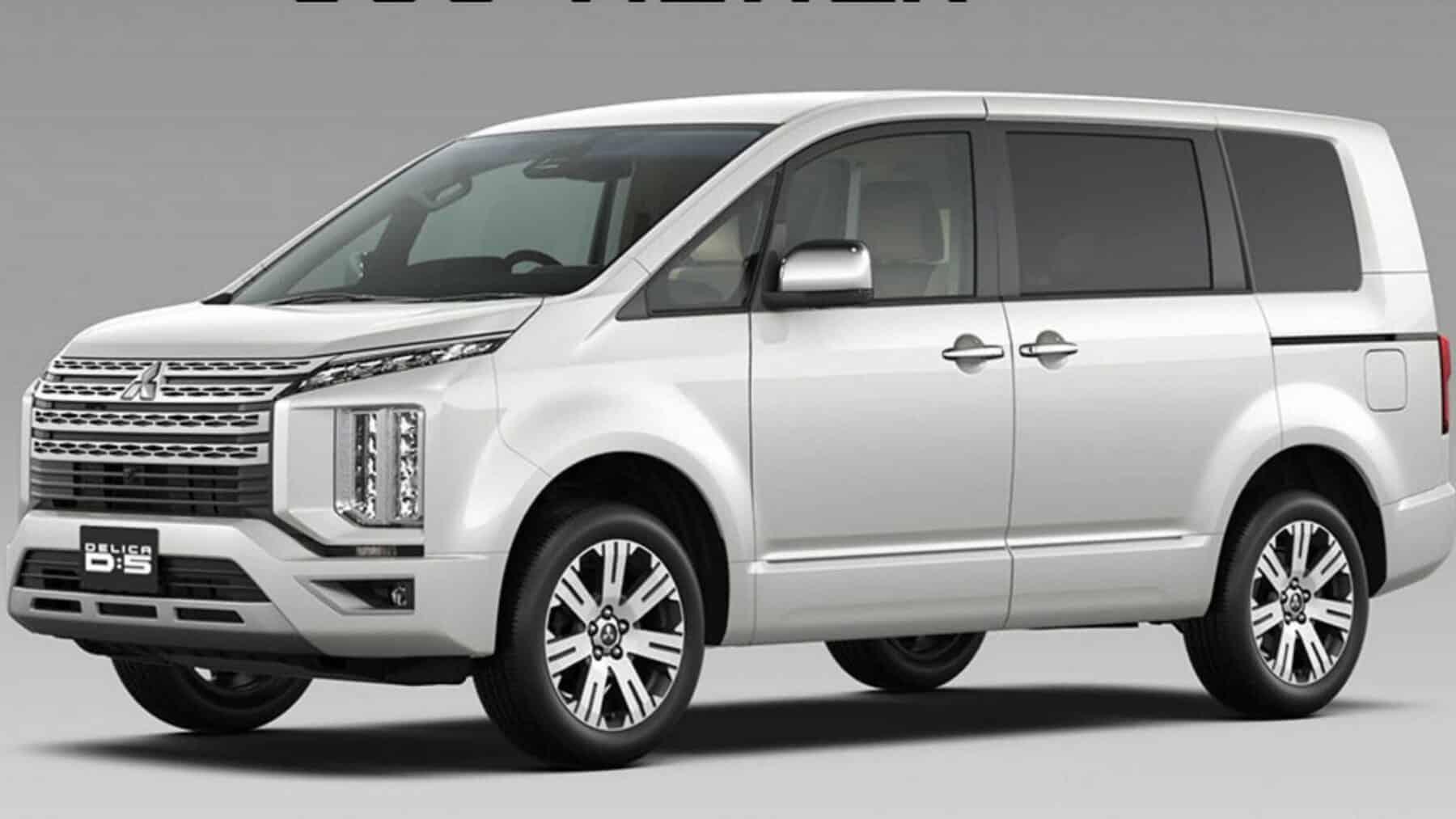 Mitsubishi D:5 Delica 2019: Fusión de conceptos