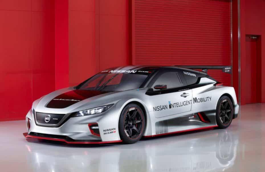 Nissan LEAF NISMO RC: El coche eléctrico de carreras ataca de nuevo