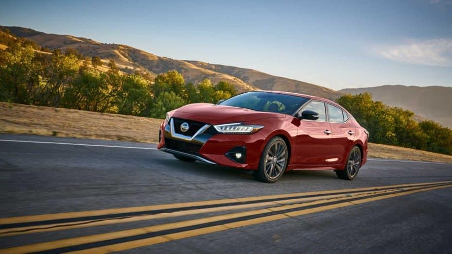 Nissan Maxima 2019: Nueva estética y un V6 de 300 CV para conquistar el mercado