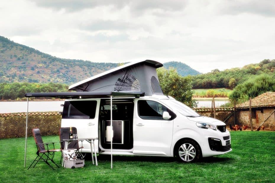 El Peugeot Traveller by Tinkervan ya tiene precios: Todos los detalles de esta camperización