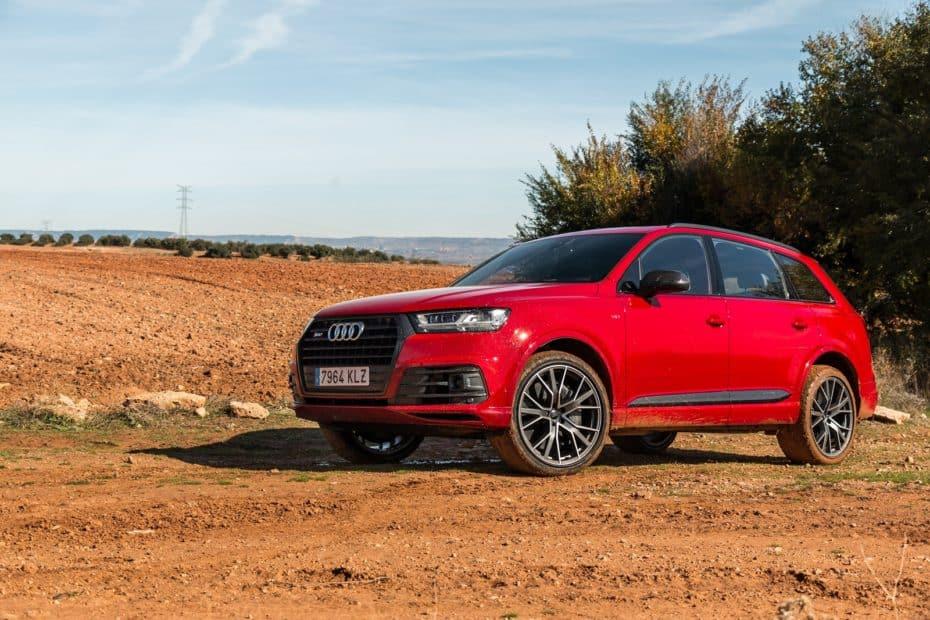 Prueba Audi SQ7 V8 4.0 TDI 435 CV 7 plazas: Hay reyes que no temen salir al campo de batalla
