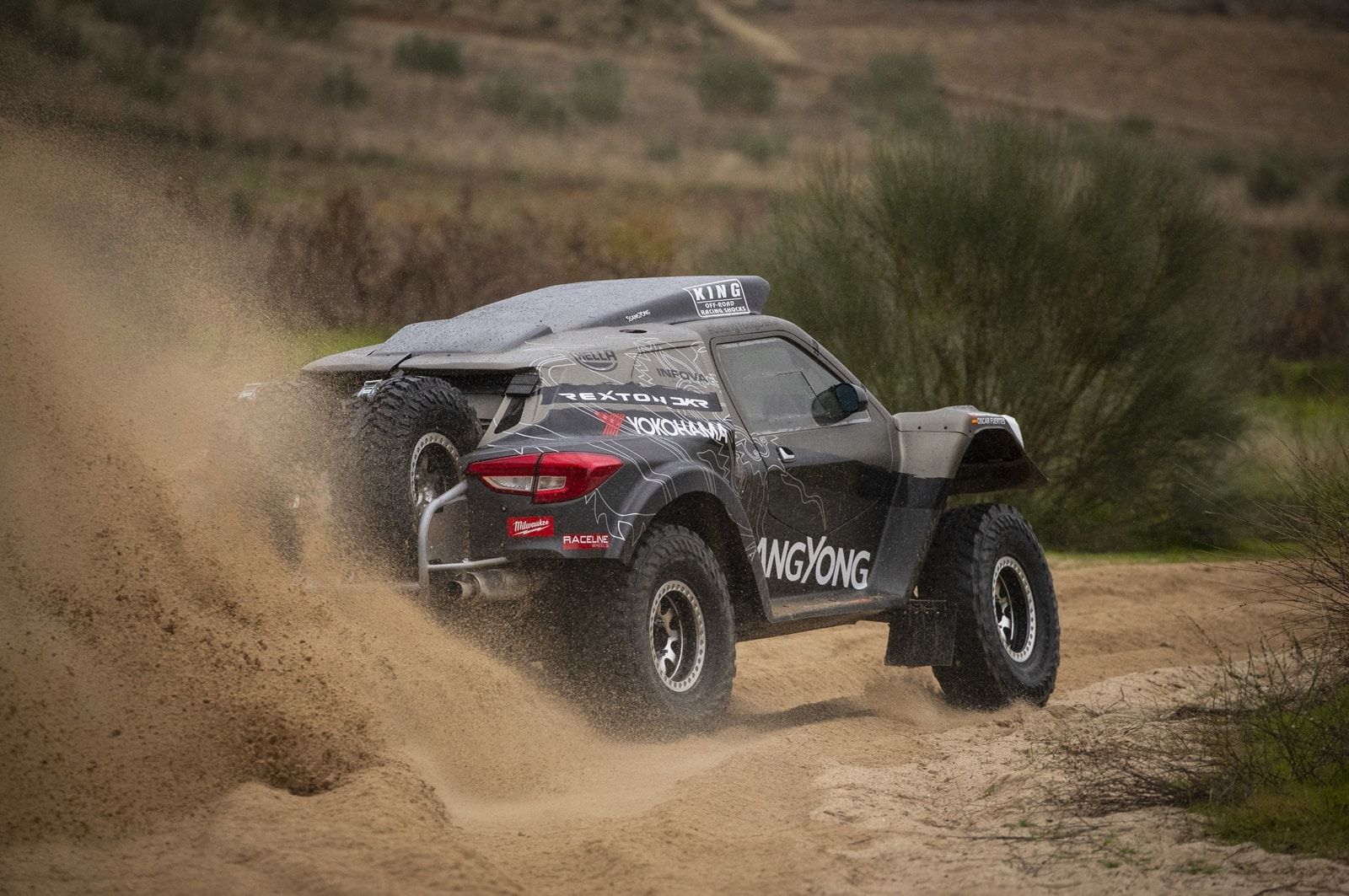 SsangYong vuelve con fuerza al Dakar con el Rexton DKR 2019: Un producto 'made in Spain'