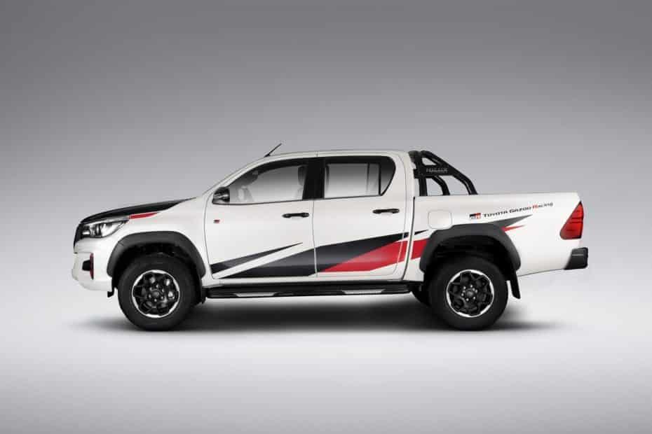 Toyota Hilux GR Sport: Puesta a punto de Gazoo Racing sólo para Brasil