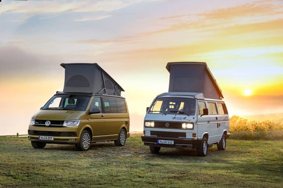 Volkswagen California 30 Aniversario: Tres décadas de aventuras resumidas en una edición especial