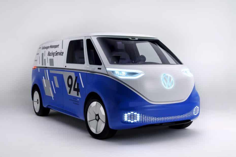 Volkswagen I.D. Buzz Cargo Concept: La «furgo» eléctrica y autónoma alemana que verás en 2022