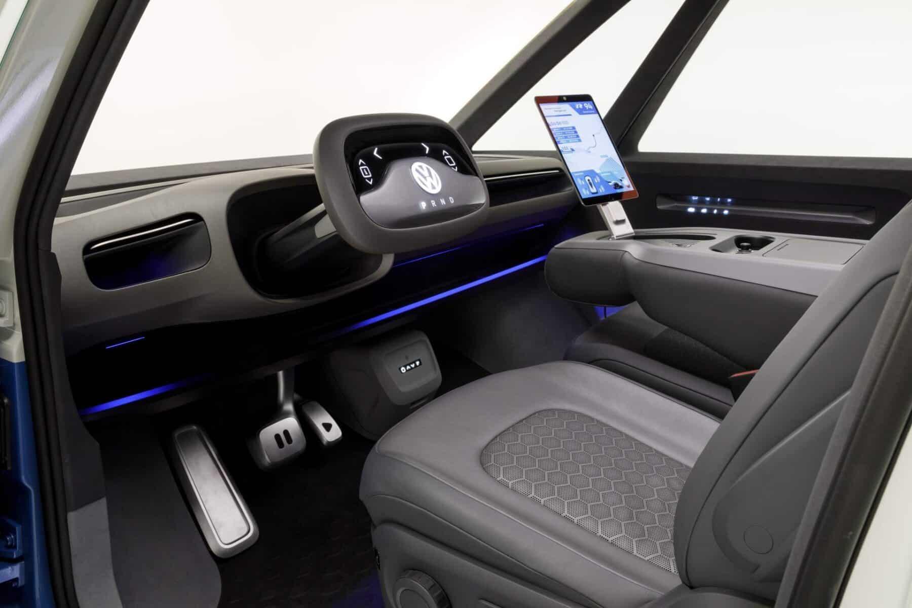 """Volkswagen I.D. Buzz Cargo Concept: La """"furgo"""" eléctrica y autónoma alemana que verás en 2022"""