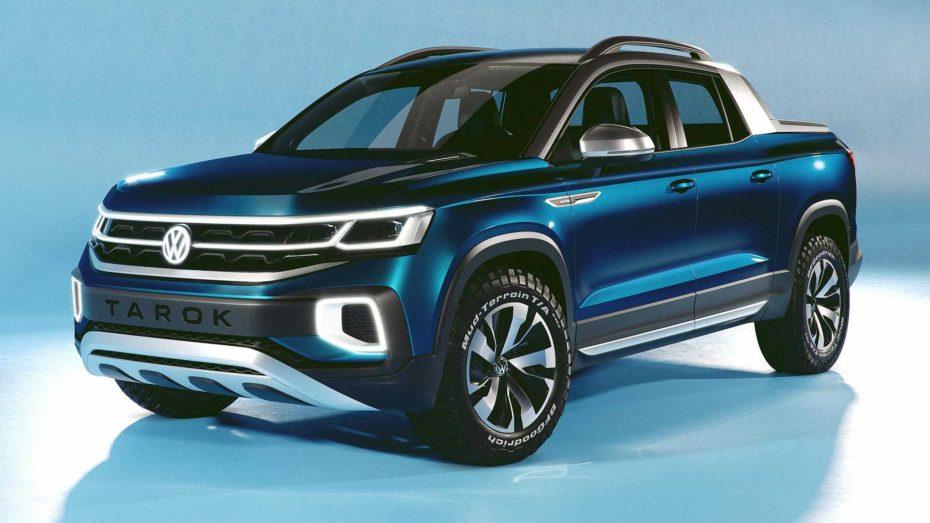 Volkswagen Tarok Concept: El nuevo pick up de tamaño medio alemán