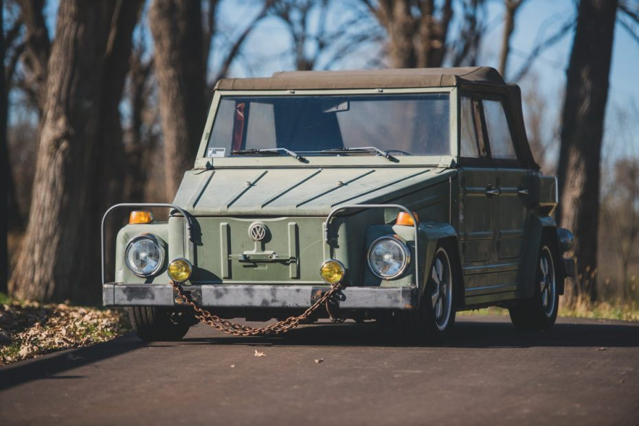 A subasta este Volkswagen Type 181 de 1974, una pedacito de la historia que ahora puede ser tuyo
