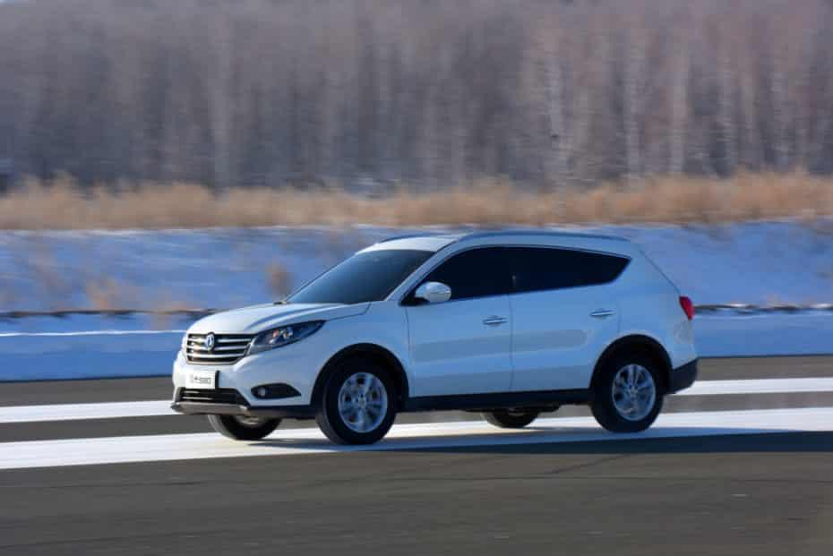 DFSK lanza el Glory 580 en España: El primer SUV chino, ya disponible