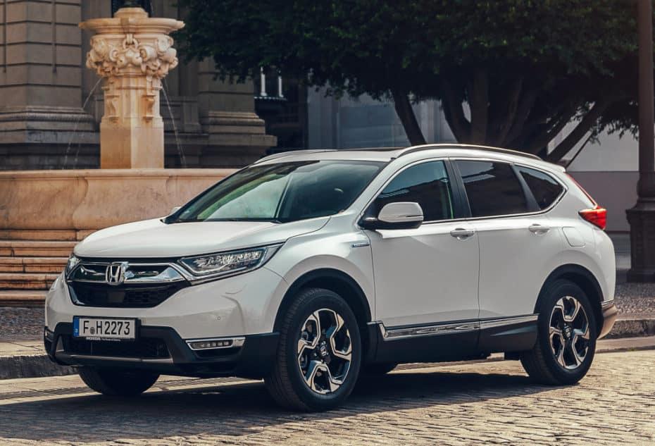 Honda Europa pretende vender 60 mil unidades del CR-V cada año: Más de la mitad híbridos