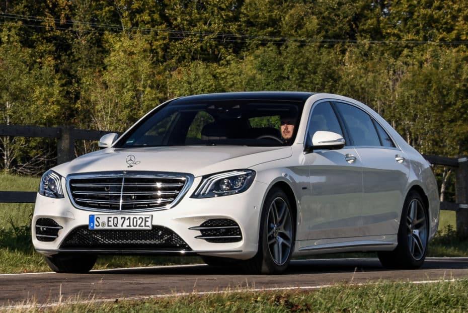 Etiqueta «Cero Emisiones» para el Mercedes S560e que ya puedes reservar