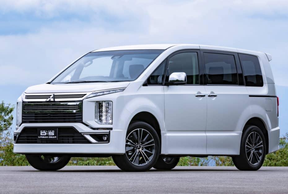 Mitsubishi D:5 Delica 2018: Fusión de conceptos para los mercados asiáticos