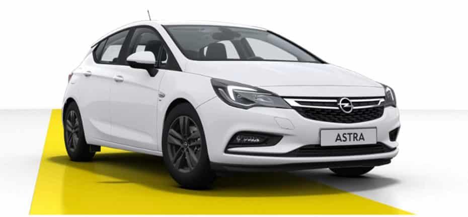 """Nuevo Opel Astra """"120 Aniversario"""""""