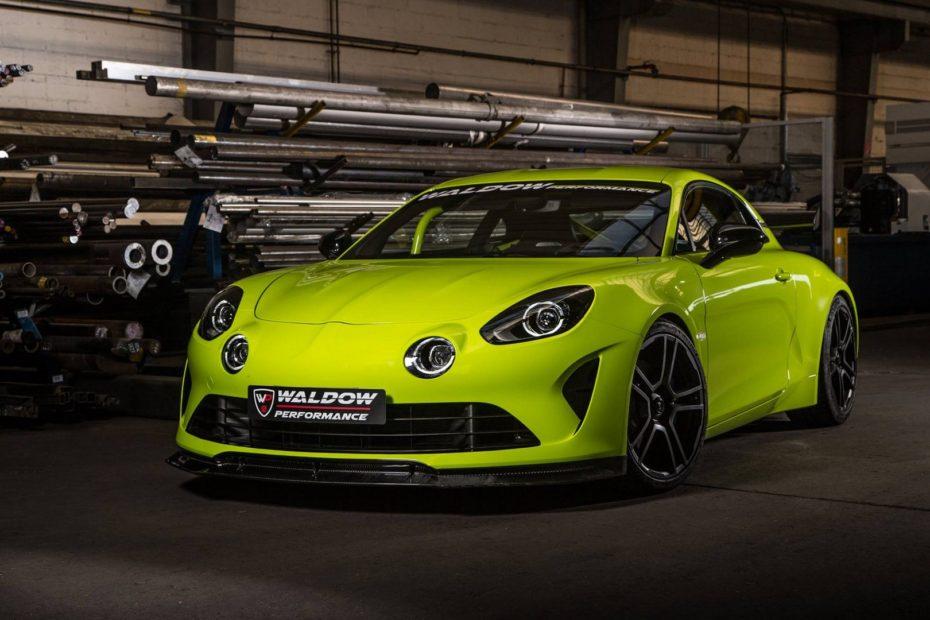 Alpine A110 WP300: Unos sugerentes 300 CV para el deportivo galo gracias a Waldow Performance