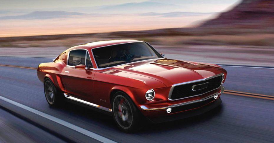 Aviar Motors ha creado el R67, un 'Mustang' eléctrico de diseño clásico y con 840 CV