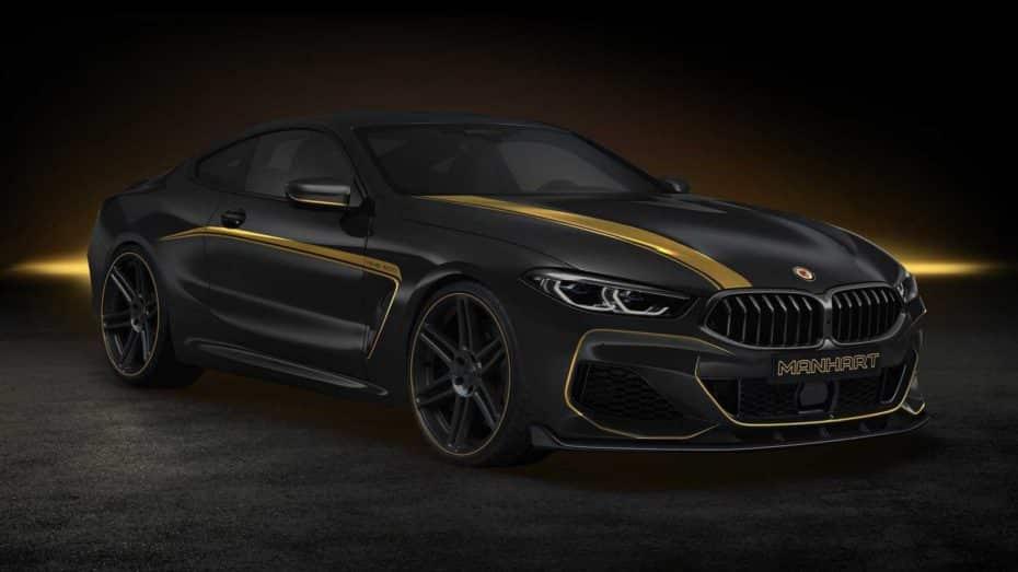 El BMW M850i de Manhart se llama MH8 600 y no tiene nada que temer al futuro M8