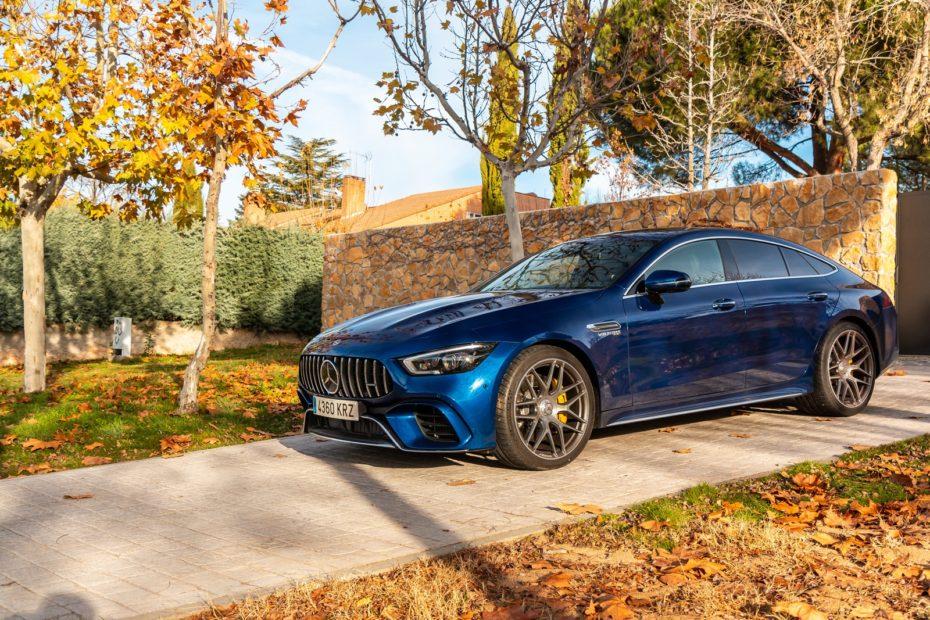 Contacto Mercedes-AMG GT 63 S 4MATIC+ 4 puertas Coupé 639 CV 2018: Al circuito, también en familia