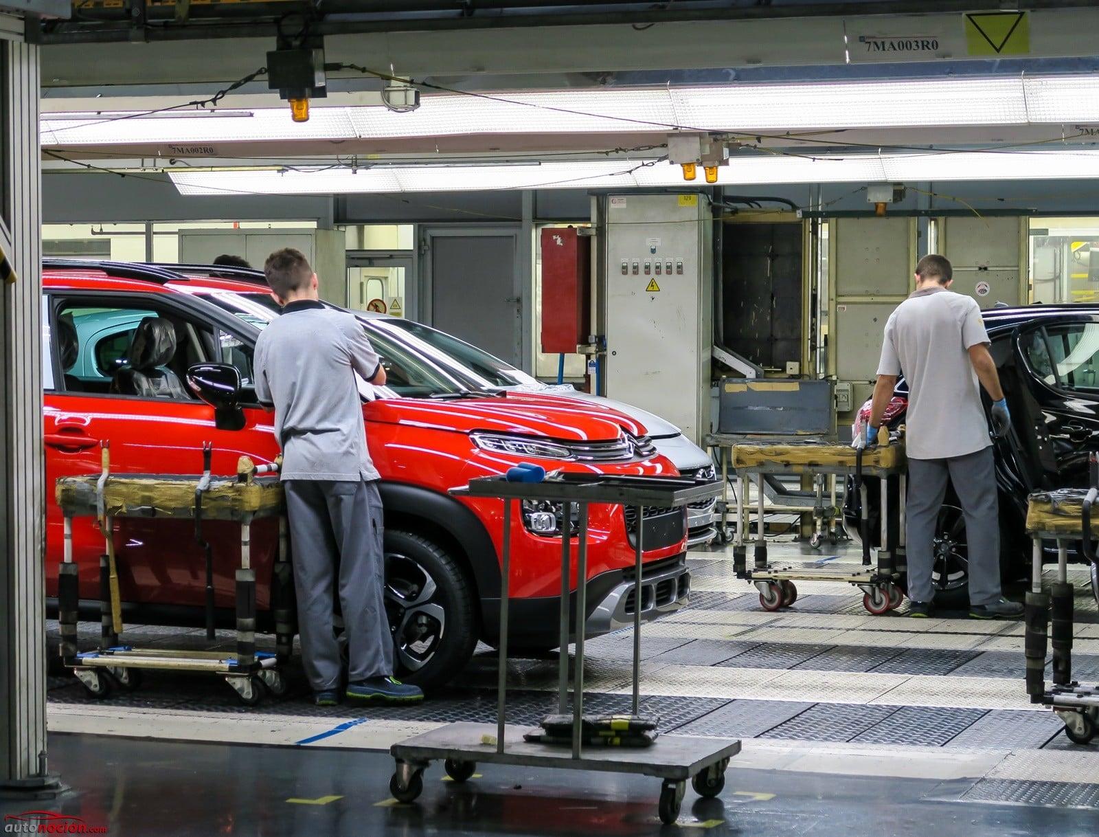 A continuación los coches que se fabrican en España