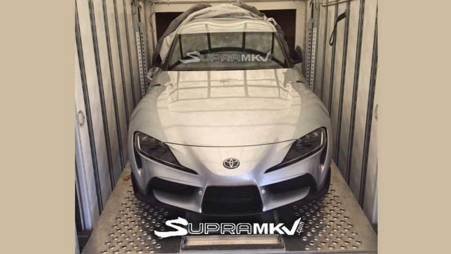 ¡Filtrado! Así luce el Toyota Supra 2019 definitivo: Realmente similar al 'concept'
