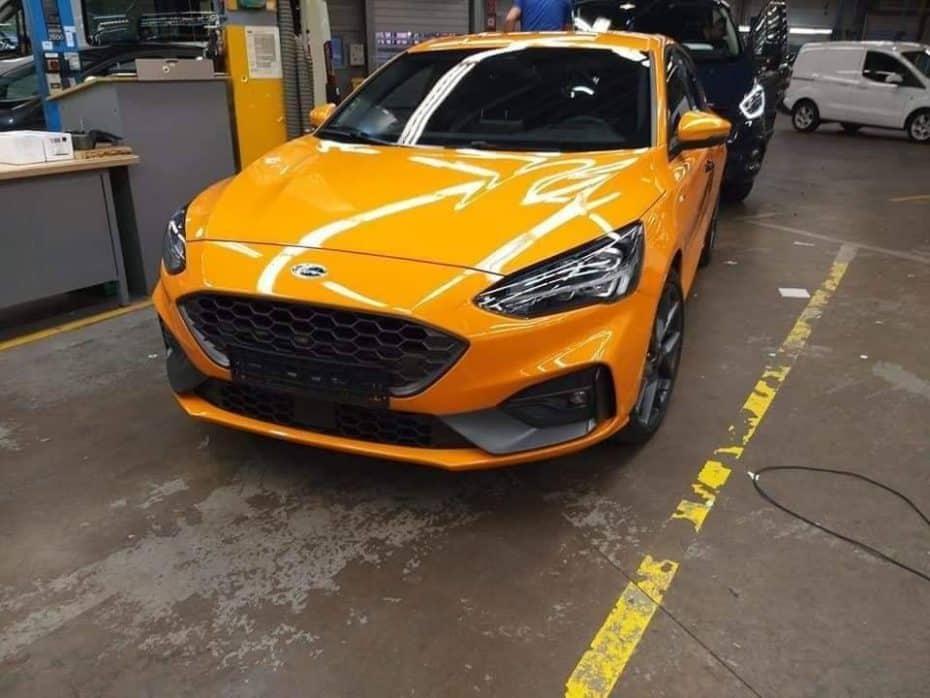 ¡Filtrado! Saluda al Ford Focus ST 2019: Podría llegar con unos sugerentes 290 CV