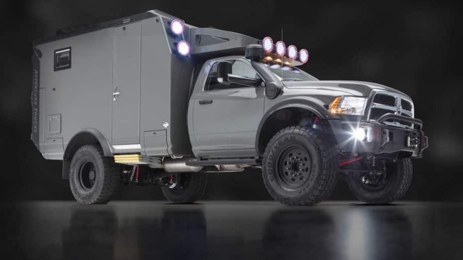 El GEV Adventure Truck es tu nuevo compañero de aventuras para llegar hasta el fin del mundo