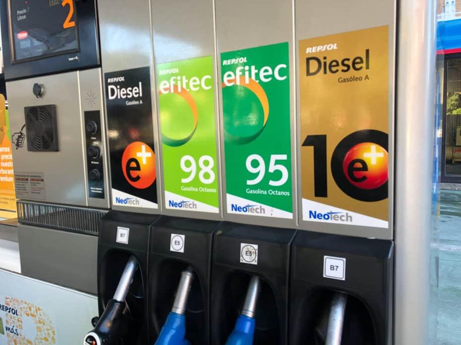 ¿Adiós a la gasolina 95? A finales de este año podría desaparecer de todas las gasolineras