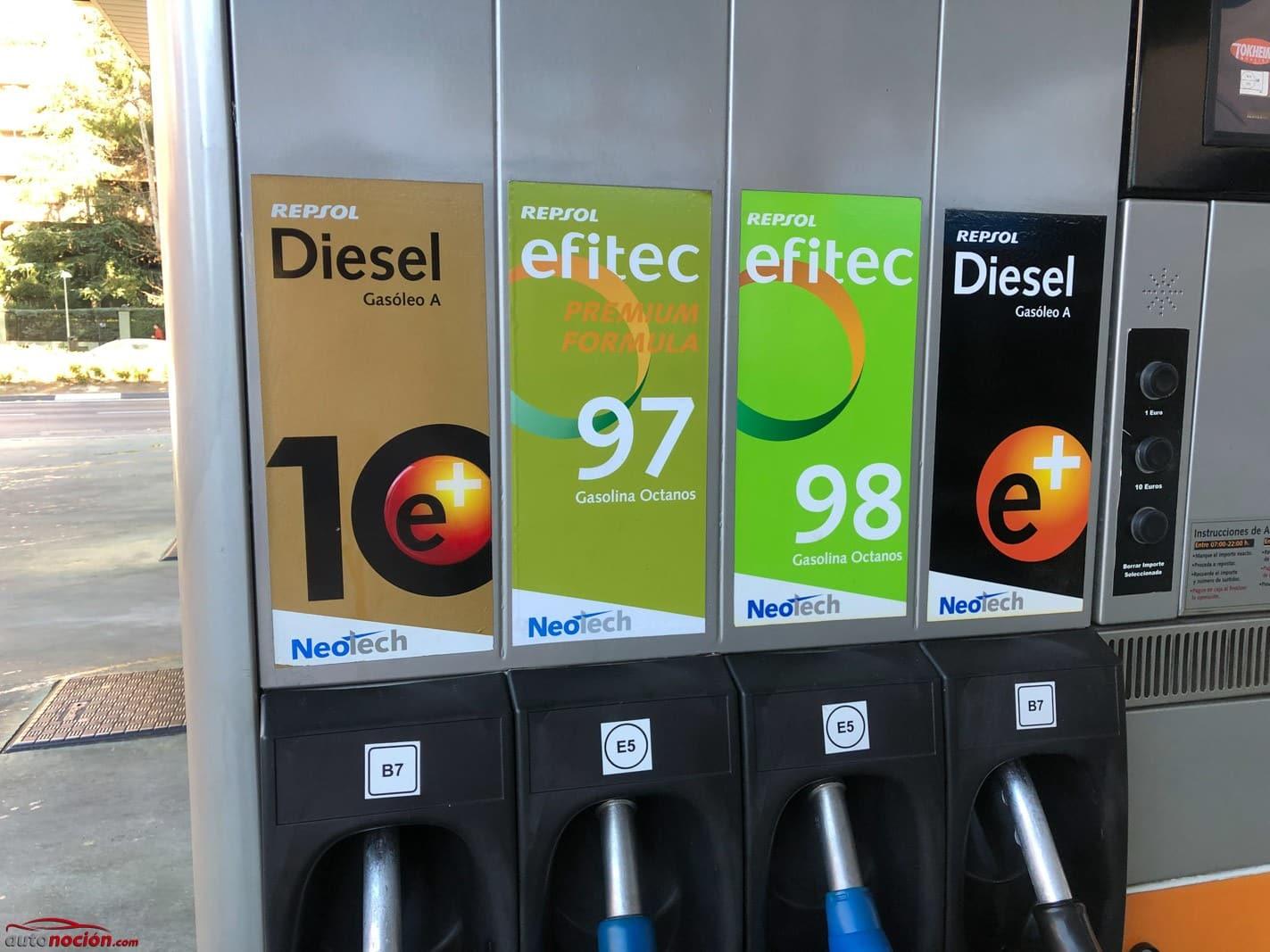 Gasolina 97 octanos