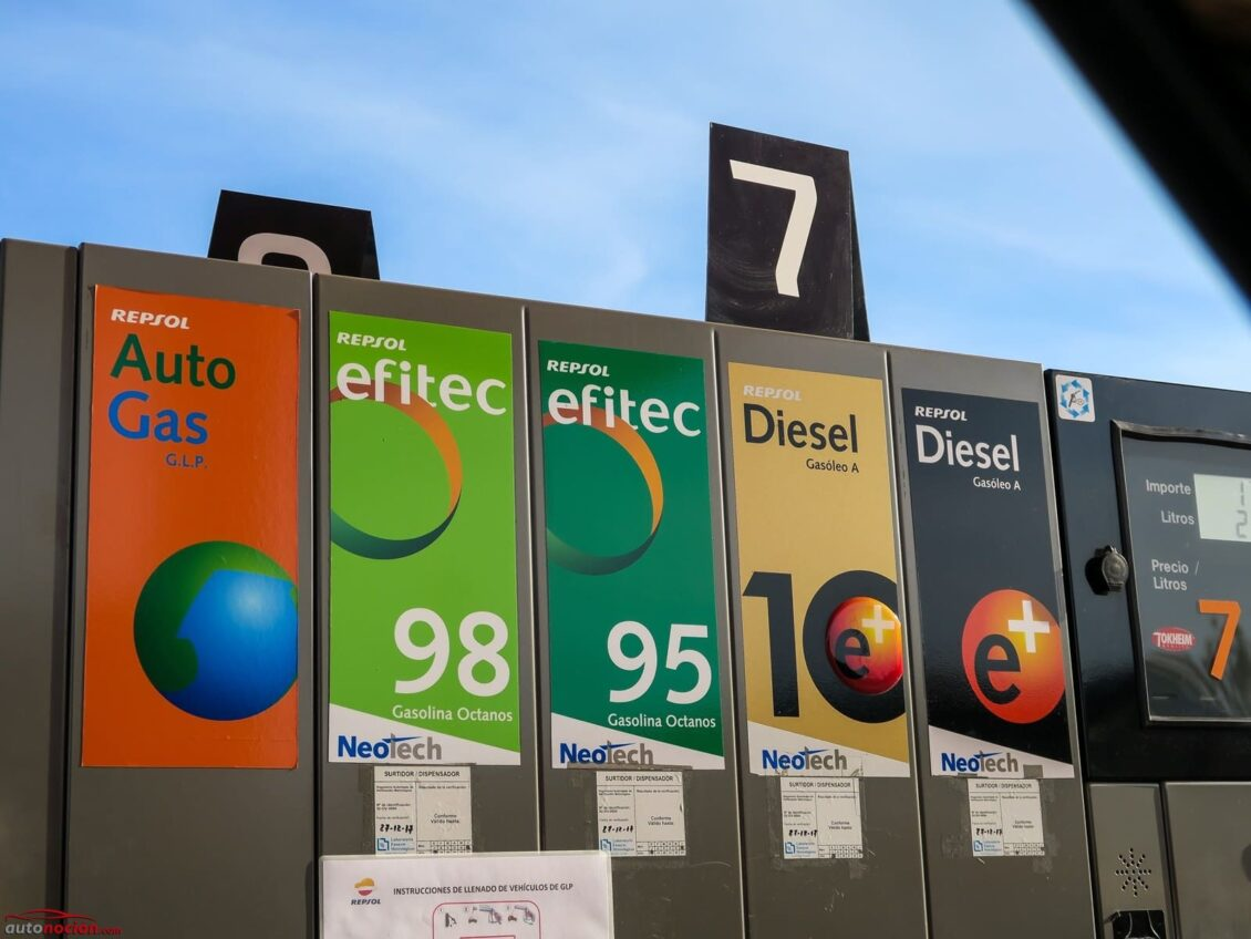 ¿Le pasa algo al coche si echo gasolina 98 o superior? ¿Afecta a los coches más antiguos?