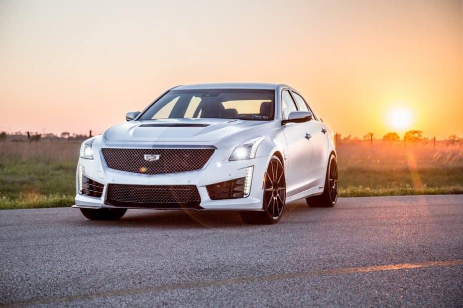Hennessey se despide del Cadillac CTS-V con un kit HPE1000 de ¡más de 1.000 CV!