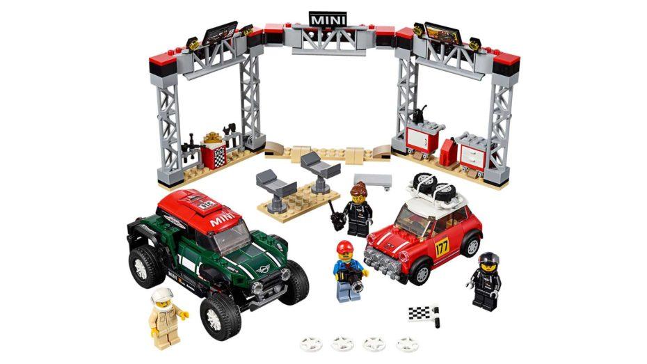 Ojo a la nueva colección LEGO Speed Champions 2019: Iconos de la automoción de ayer y hoy