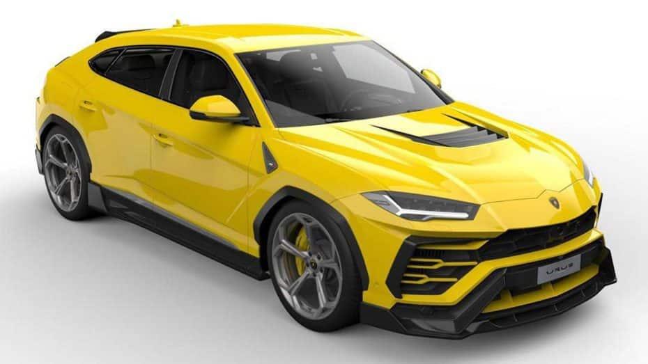 El Lamborghini Urus se está poniendo de moda: Ojo a la dieta rica en fibra de carbono de Vorsteiner