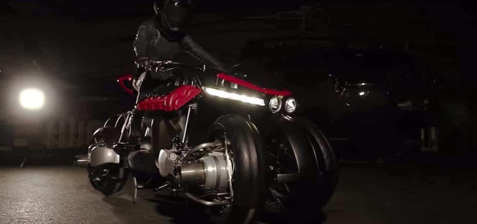 ¿Es un pájaro?¿Es un avión? No, es la nueva Lazareth LMV 496, la primera moto voladora del mundo
