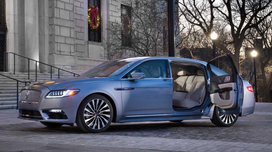 Lincoln celebra el 80º aniversario del Continental con esta exclusiva limusina de puertas suicidas