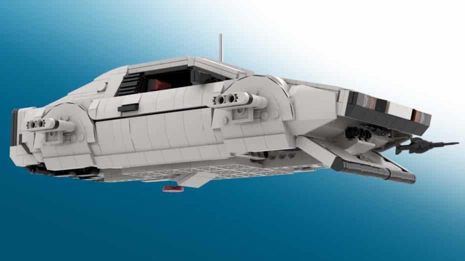 Si siempre soñaste con el LotusEsprit S1 de James Bond ahora puedes tenerlo en tu salón gracias a LEGO